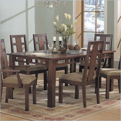 Somerton Enchantment Rectangular Casual Dining Table in Rich Cappuccino Finish