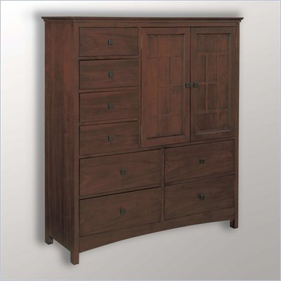 Somerton Enchantment 8 Drawer Mule Chest in Rich Cappuccino Finish