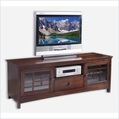 Somerton Enchantment Plasma TV Stand in Rich Cappuccino
