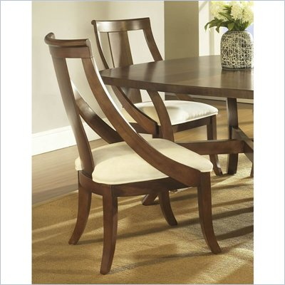 Somerton Gatsby Side Chair in Medium Brown