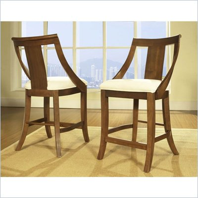 Somerton Gatsby Bar Stool in Medium Brown