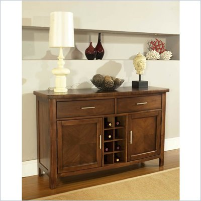 Somerton Gatsby Dining Server in Medium Brown
