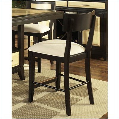 Somerton Insignia Bar Stool in Maple and Merlot Finish