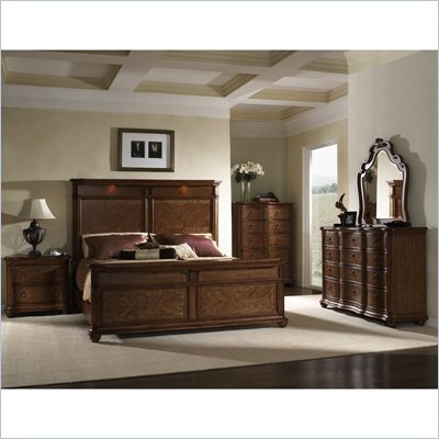 Somerton Melbourne Panel Bed 6 Piece Bedroom Set