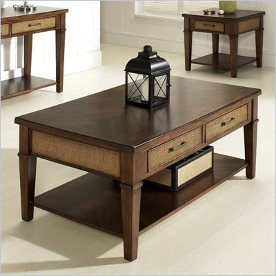 Somerton Mesa Cocktail Table in Medium Brown