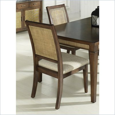 Somerton Mesa Side Chair in Medium Brown
