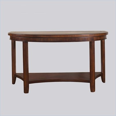 Somerton Rhythm Side Sofa Table in Burnished Rum