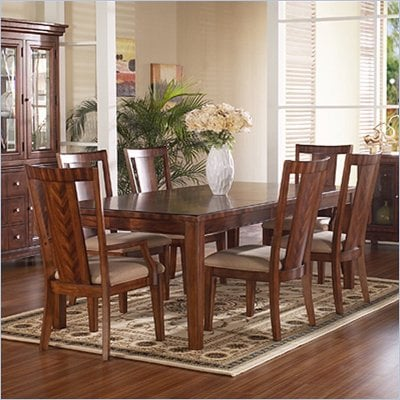 Somerton Runway Contemporary 7 Piece Dining Set