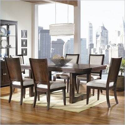 Somerton Shadow Ridge Modern 5 Piece Dining Set