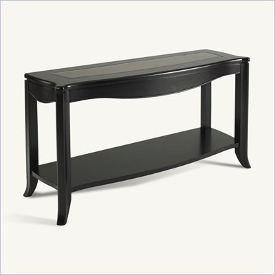 Somerton Signature Transitonal Sofa Table in Mocha