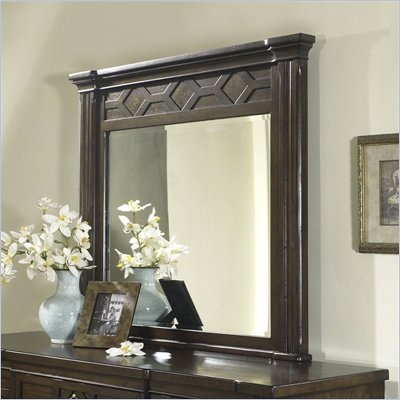 Somerton Villa Madrid Mirror in Dusk Brown Finish