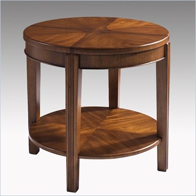 Somerton Wood Blend Round End Table