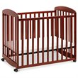 ADD TO YOUR SET: DaVinci Alpha Mini Rocking Wood Baby Crib in Cherry