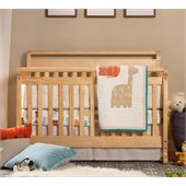 DaVinci Emily 4-in-1 Convertible Wood Baby Crib w/ Toddler Rail in Natural