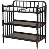DaVinci Jenny Lind Wood Changing Table in Ebony
