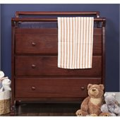 DaVinci Kalani Pine Wood 3-Drawer Changing Table in Cherry