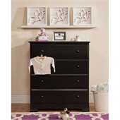 DaVinci Kalani 4 Drawer Chest in Ebony Finish