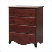 DaVinci Emily 4 Drawer Chest in Cherry Finish
