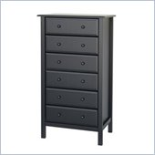 DaVinci Jayden 6 Drawer Tall Dresser in Ebony