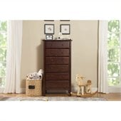 DaVinci Jayden 6 Drawer Tall Dresser in Espresso