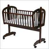 DaVinci Futura Wood Baby Cradle in Cherry