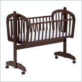 DaVinci Futura Wood Baby Cradle in Espresso