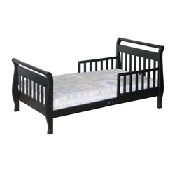 Davinci Wood Sleigh Toddler Bed In Ebony Picture