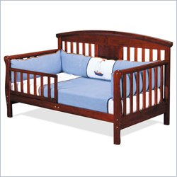 Davinci Elizabeth Ii Convertible Wood Toddler Bed In Cherry Picture
