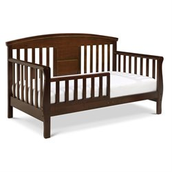 Davinci Elizabeth Ii Convertible Wood  Toddler Bed In Espresso Picture