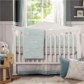 DaVinci Parker 4-in-1 Convertible Wood Baby Crib w/ Toddler Rail in White