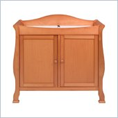 DaVinci Parker 2-Door Wood Changing Table in Oak