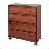DaVinci Parker 4 Drawer Chest in Cherry Finish