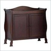 DaVinci Parker 2-Door Wood Changing Table in Coffee