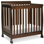 DaVinci Kalani Convertible Mini Wood Crib in Espresso Finish
