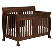 DaVinci Porter 4-in-1 convertible Crib in Espresso Including Toddler Rails