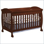 DaVinci Jacob 4-in-1 Convertible Crib in Cherry Including Toddler Rails