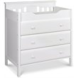 ADD TO YOUR SET: DaVinci Jayden 3 Drawer Changer in White
