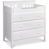 DaVinci Jayden 3 Drawer Changer in White