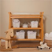 Da Vinci Emily Changing Table II in Honey Oak