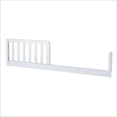 DaVinci Toddler Bed Conversion Rail Kit in White
