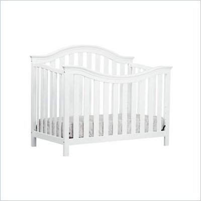 DaVinci Goodwin 4-in-1 Convertible Crib in White Finish