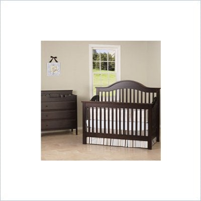 DaVinci Jayden Crib and Changer Set in Espresso