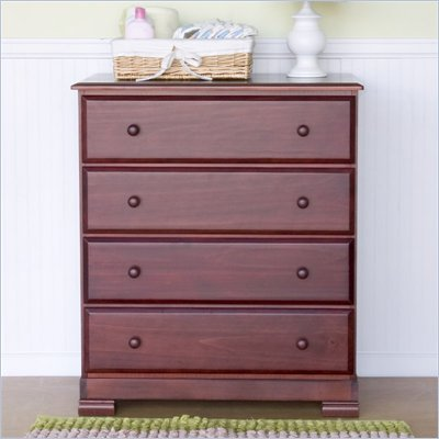 DaVinci Kalani 4 Drawer Chest in Cherry Finish