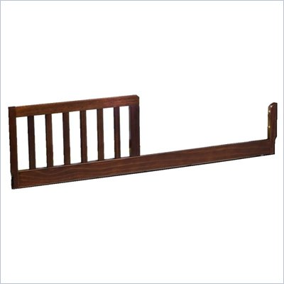 DaVinci Toddler Bed Conversion Rail Kit in Espresso Finish