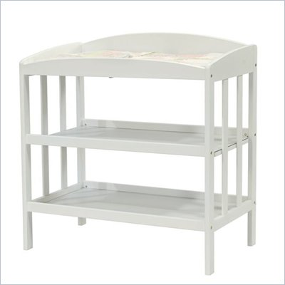 DaVinci Monterrey Wood Changing Table in White