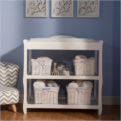 DaVinci Parker Baby Changing Table in White