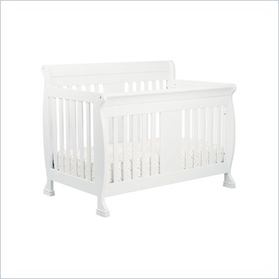 DaVinci Porter 4-in-1 convertible Crib Crib in White Including Toddler Rails
