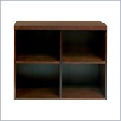 Babyletto Storage Unit Open Wood Cupboard in Espresso