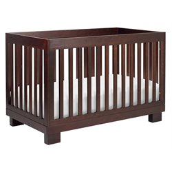 Babyletto Modo 3-in-1 Convertible Wood Crib in Espresso