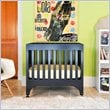 ADD TO YOUR SET: Babyletto Grayson Mini Crib with Pad in Navy